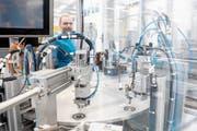 An der Uri 18 präsentiert sich auch die weltweit tätige Firma Dätwyler. (Bild: Valentin Luthiger)
