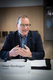 Elmar Hardegger wurde im Mai 2017 an die Spitze der CVP Gossau gewählt. (Bild: Ralph Ribi)