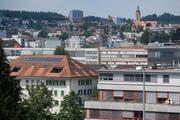 Blick auf Emmenbrücke - nach wie vor ein Gemeindeteil von Emmen. (Bild: Boris Bürgisser (14. Juni 2018))