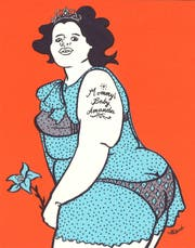 Ulli Lust ist bekannt für die spektakuläre Dokumentation ihres aufregenden Lebens. (Illustrationen: Ulli Lust)