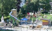 Auf dem Generationenplatz entsteht ein neuer Spielplatz. (Bild: PD)