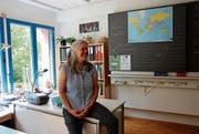 Diesen Sommer verlässt Esther Legenstein ihr buntes Klassenzimmer in der grünen Umgebung. (Bild: Emilie Jörgensen)