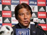 Betreute Japan im verlorenen WM-Achtelfinal gegen Belgien zum letzten Mal: Nationaltrainer Akira Nishino (Bild: KEYSTONE/AP/SHUJI KAJIYAMA)