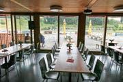 Das Restaurant Sporttreff auf der Kellen in Tübach steht bald ohne Wirte da. (Bild: Rudolf Hirtl)