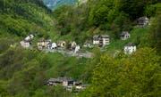 Das Dorf Vergeletto im Onsernone-Tal. (Bild: Carlo Reguzzi/KEYSTONE/Ti-Press)