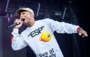 Pharrell Williams von N.E.R.D. am Open Air Frauenfeld. (Bild: Reto Martin)