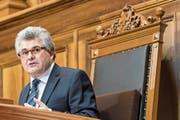 Im November 2016 übernahm Ivo Bischofberger das Präsidium des Ständerats. Vorgestern wurde er in den Vorstand des Schweizerischen Gewerbeverbands gewählt. (Bild: Anthony Anex/Keystone)
