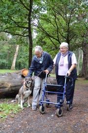 Tiere können (nicht nur) Seniorinnen und Senioren den Tag versüssen. (Bild: Jessica Nigg)