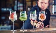 Damit nicht schon das Glas den Gast degradiert: Auch Alkoholfreies gehört in ein Kristallglas mit Stiel. (Bild: Getty)