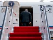 Kaum hatte US-Aussenminister Pompeo Nordkorea verlassen wurden die Gespräche unterschiedlich bewertet: Für Pompeo gab es Fortschritte, für Nordkorea nur Enttäuschungen. (Bild: KEYSTONE/Pool AP/ANDREW HARNIK)