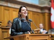 Hört im November auf: Die Zürcher SP-Nationalrätin Chantal Galladé. (Bild: KEYSTONE/ANTHONY ANEX)