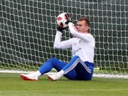 Russlands «Penaltykiller» aus dem Achtelfinal gegen Spanien: Goalie Igor Akinfejew (Bild: KEYSTONE/EPA/ABEDIN TERKENAREH)