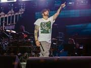 Eminem bot den Fans, was sie wollten. (Bild: Jeremy Deputat, 6. Juli 2018)