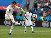 Hat mit Frankreichs Auswahlen noch kein einziges Spiel verloren: Benjamin Pavard (Bild: KEYSTONE/EPA/ETIENNE LAURENT)