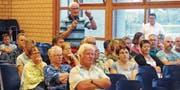 Hans-Peter Stiboller appelliert, an die Zukunft zu glauben und der Gemeindevereinigung zuzustimmen. (Bild: Max Tinner)
