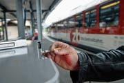 Der letzte Zug? Die Zentralbahn hilft Mitarbeitern beim Rauchstopp. (Bild: Corinne Glanzmann, Alpnach, 6. 7. 2018)