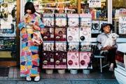 Spielzeugautomat vor einem Laden in Kioto. (Bild: Asanka Brendon Ratnayake/Getty)