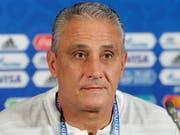 Dürfte Brasilien auch künftig als Nationaltrainer betreuen: Tite (Bild: KEYSTONE/AP/ANDRE PENNER)
