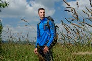 Jasha Bättig (19) aus Alberswil rückt am Montag in die Grenadier-Rekrutenschulei in Isone ein. (Bild: Boris Bürgisser, Alberswil, 14. Juni 2018)