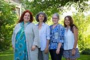 Die Kandidatinnen (von links): Cornelia Mayinger, Mariann Hess, Debora Iten-Kast und Susanne Meijer. (Bild: PD)