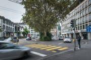 Das Parkhaus-Projekt der City Parking AG unter der Union am Oberen Graben (Bild) wird nicht weiter verfolgt. Das Vorhaben belastet aber weiterhin das Verhältnis linksgrüner Verkehrspolitiker zur AG. (Bild: Michel Canonica - 23. September 2016)