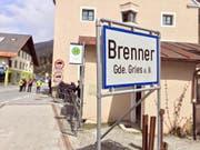 Sicherheitsmassnahme wegen EU-Innenministertreffen: Österreich führt ortsweise wie etwa am Brenner für fünf Tage wieder Grenzkontrollen ein. (Bild: KEYSTONE/EPA ANSA/ROBERTO TOMASI)
