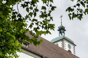 Das Kloster Kreuzlingen ist nach dem Brand 1963 wieder aufgebaut worden. (Bild: Reto Martin)