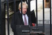 Tritt zurück: Brexit-Befürworter Boris Johnson. (Bild: Keystone)