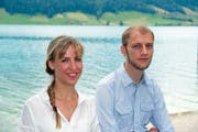 Marisa Büttgen und Raphael Bilang aus Oberägeri wollen in den Kantonsrat. (Bild: PD)