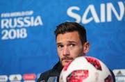 Frankreichs Goalie Hugo Lloris: «Wir wollen uns verewigen.» Bild: EPA
