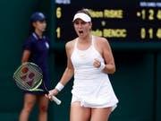 Kämpferisch und wieder erfolgreich: Belinda Bencic (Bild: KEYSTONE/EPA/NIC BOTHMA)