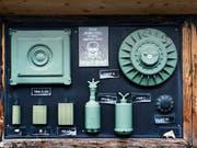 Auch die Herstellung von Antipersonenminen hatten die Initianten der Luzerner «Kriegsgeschäfte-Initiative» im Visier. (Bild: KEYSTONE/CHRISTIAN BEUTLER)