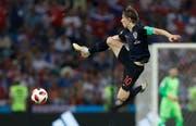 Wird als Weltfussballer gehandelt: Luka Modric. (Bild: Darko Bendic / EPA)