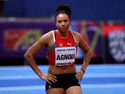 Caroline Agnou machen Knieprobleme zu schaffen (Bild: KEYSTONE/AP/MATT DUNHAM)