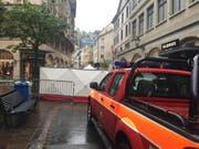 Der 61-jährige Kosovare, dem vorgeworfen wird, im Mai 2016 seinen Cousin in der St. Galler Altstadt erschossen zu haben, wird zu einer Freiheitsstrafe von 15 Jahren verurteilt. ( Archiv sda) (Bild: Archiv sda)