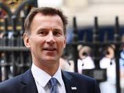 Der bisherige Gesundheitsminister Jeremy Hunt wird neuer britischer Aussenminister. (Bild: KEYSTONE/EPA/ANDY RAIN)