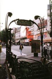 In der Metro in Paris (Bild) gab es eine grössere Panne (Bild: Archiv LZ)