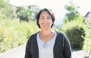 Die Emmer Einwohnerratspräsidentin Judith Suppiger (SP) sprach in Emmen-Dorf über das Privileg, Schweizerin zu sein. (Bild: pd)