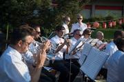 Für musikalische Auflockerung sorgte die einheimische Musikgesellschaft.