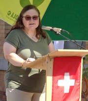 Spitalseelsorgerin und Festrednerin Barbara Huster. (Bild: Tobias Bolli)