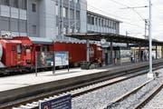 Die Arbeiten beim Bahnhof Steinhausen sind fast abgeschlossen. (Bild: Werner Schelbert (10. August 2018))