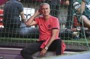 José Mourinho steht bei Manchester United unter Druck. (Bild: EPA)