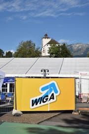 Betreffend der Gewerbe-Gemeinschaftsstände ist die Wiga 2019 aktuell eine Baustelle. (Bild: Heini Schwendener)