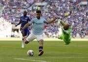 Sergio Agüero ist einer der vielen Stars bei Manchester City (Bild: AP)