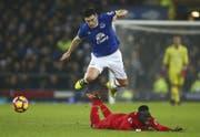 Everton möchte den Rivalen Liverpool überflügeln (Bild: AP)