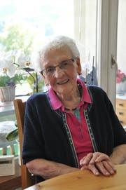 Monika Brunner-Fuchs. (Bild: Sabine Schmid, 10. Juni 2016)
