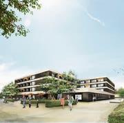 Am 3. September stellt der Gemeinderat das neue Alters- und Pflegezentrum vor. Visualisierung: Cukrowicz Nachbaur Architekten ZT GmbH