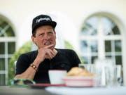 Tief gefallen: Der ehemalige Radstar Jan Ullrich (Bild: KEYSTONE/ENNIO LEANZA)