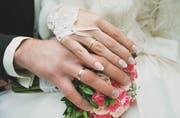 Welcher Tag soll es sein? Besonders an Schnapsdaten wird gerne geheiratet. (Bild: Getty)