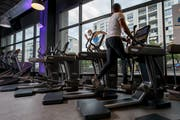 Ein Sportcenter von Let's Go fitness in Genf. (Bild: KEYSTONE/Salvatore Di Nolfi, 9. August 2018)